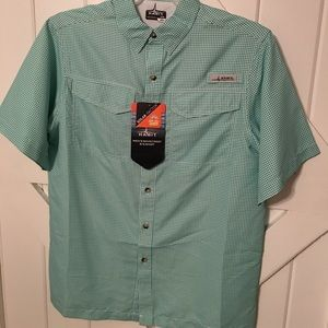 Other - Men's Green Gingham Fishing Shirt